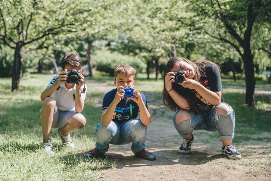Atelier de fotografie pentru copii
